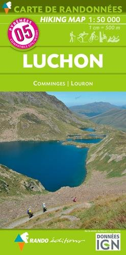 Carte de randonnées 1/50 000 Pyrénées 05 Luchon