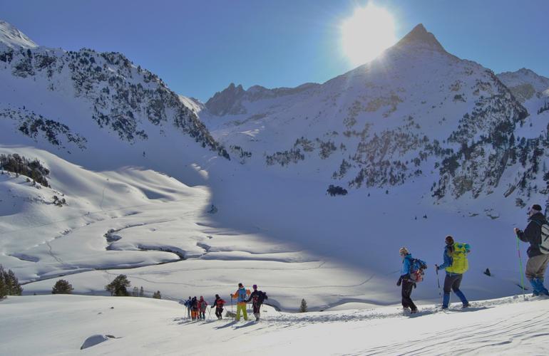 Raquettes à neige à Canillo - Andorre