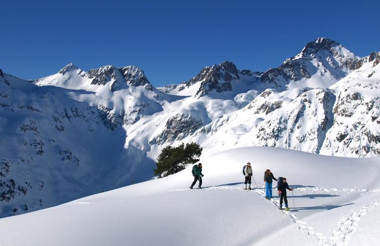 Excursion en raquettes au lac de Gaube - Hautes-Pyrénées