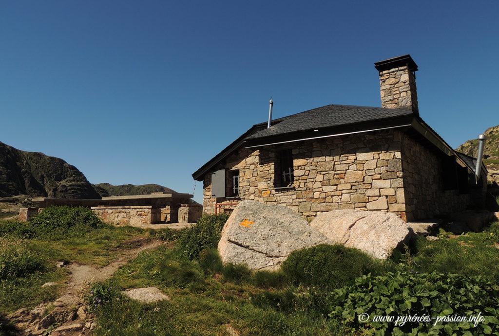 Le refuge de Juclar - Andorre