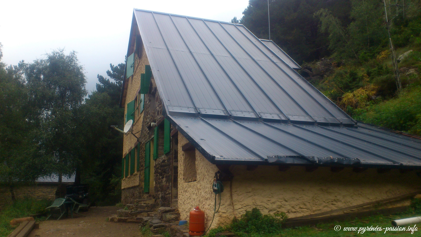 Le refuge de Vallferrera