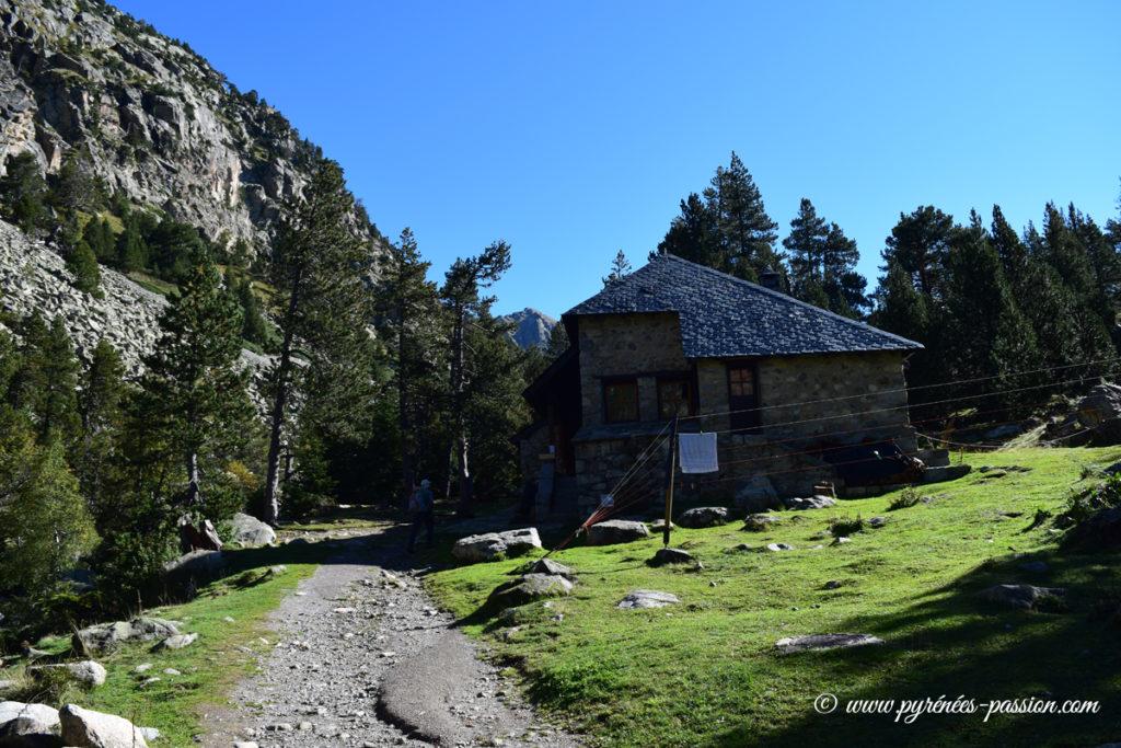 Refuge Estany Llong - Massif des Encantats
