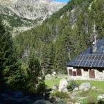 Refuge de l'Estany llong- Catalogne, massif des Encantats
