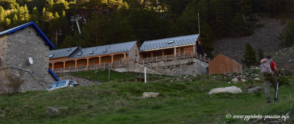 Le refuge du lac de l'Oule