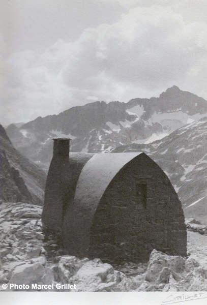 Le refuge Packe - Photo de Marcel Grille