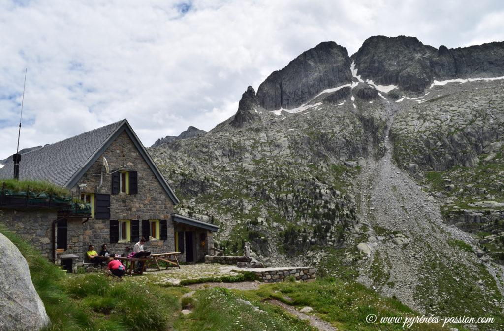 Le refuge Ventosa i Calvell Catalogne Refuges des Pyrénées Espagnoles