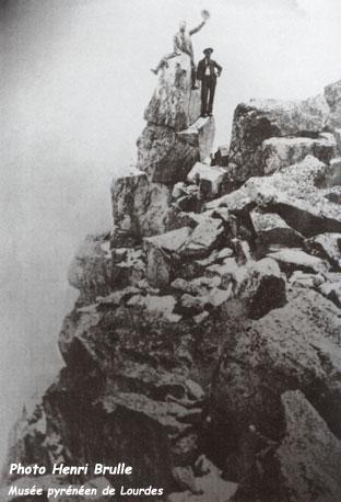 René d'Astorg - Première du Pic du Milieu
