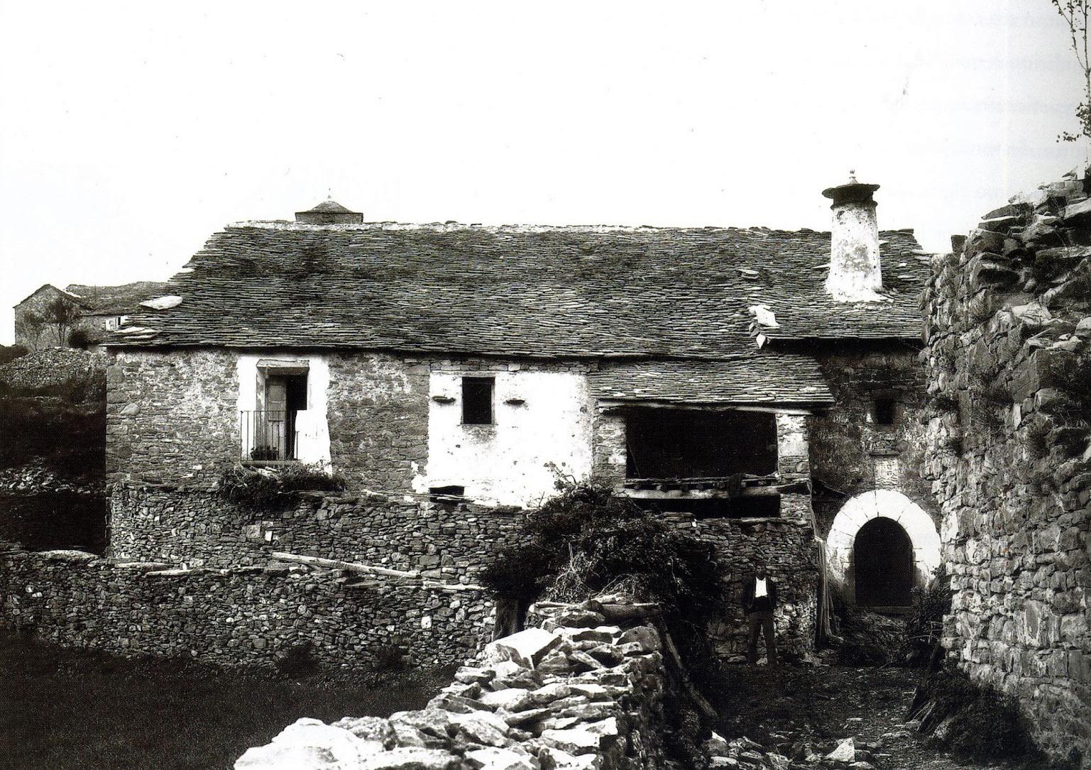 Rodellar (Aragon) 17 octobre 1908 - Photo de Lucien Briet - Musée pyrénéen de Lourdes