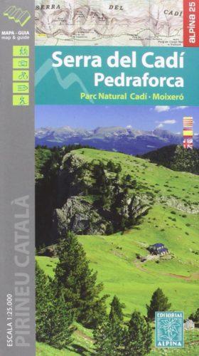 Carte Alpina E-25 Serra del Cadi - Pedraforca