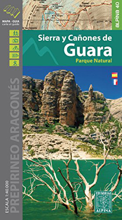 Carte Alpina E-40 Sierra y Cañones de Guara