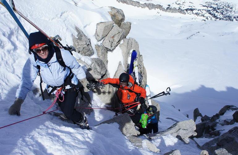 Ski de randonnée à Font-Romeu