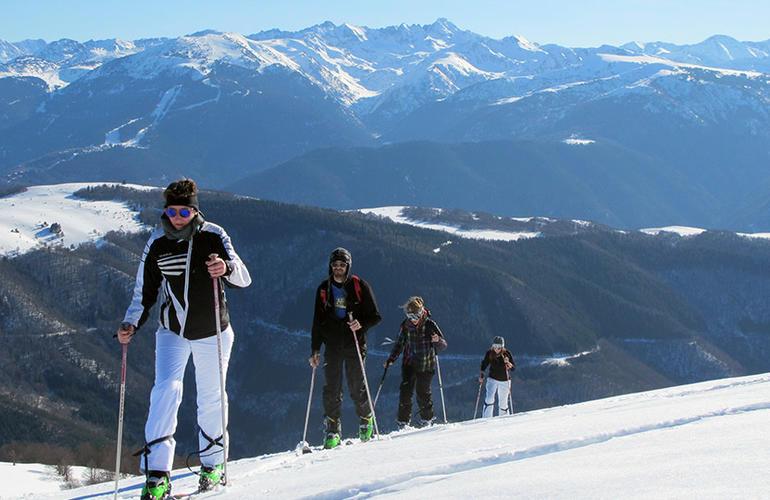 Journée d'initiation de ski de randonnée en Ariège