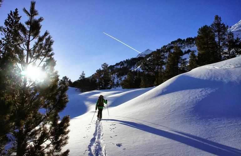 Week-end de ski de rando à Font-Romeu dans les Pyrénées-Orientales