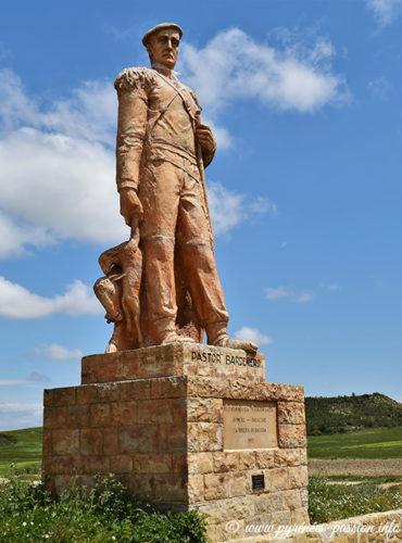La statue du berger à El Paso