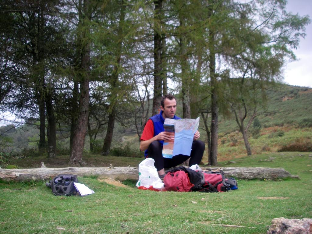 La traversée des Pyrénées en VTT Etape 1 Col des Poiriers
