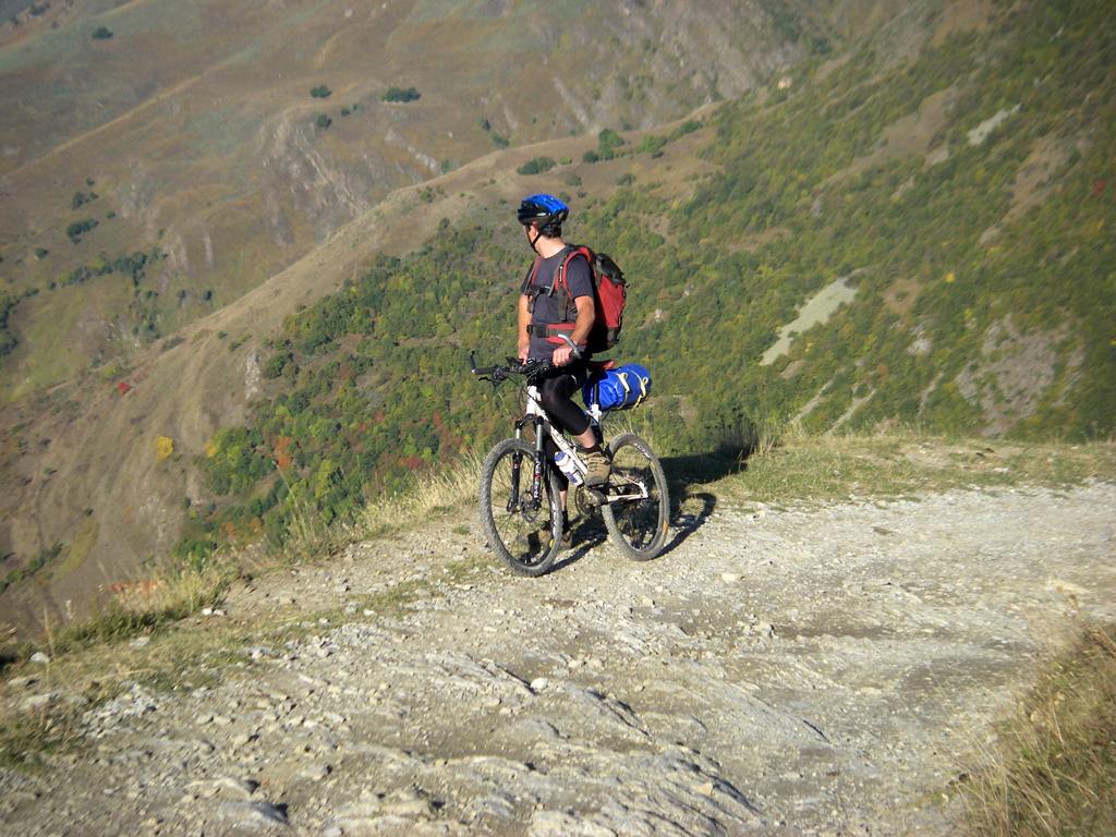 La traversée des Pyrénées en VTT Etape 10 La montée vers le Pla de Beret