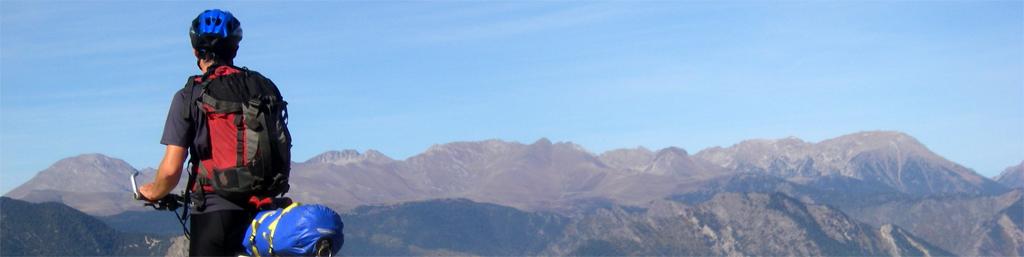 La traversée des Pyrénées en VTT - Etape 11 Col de Pou