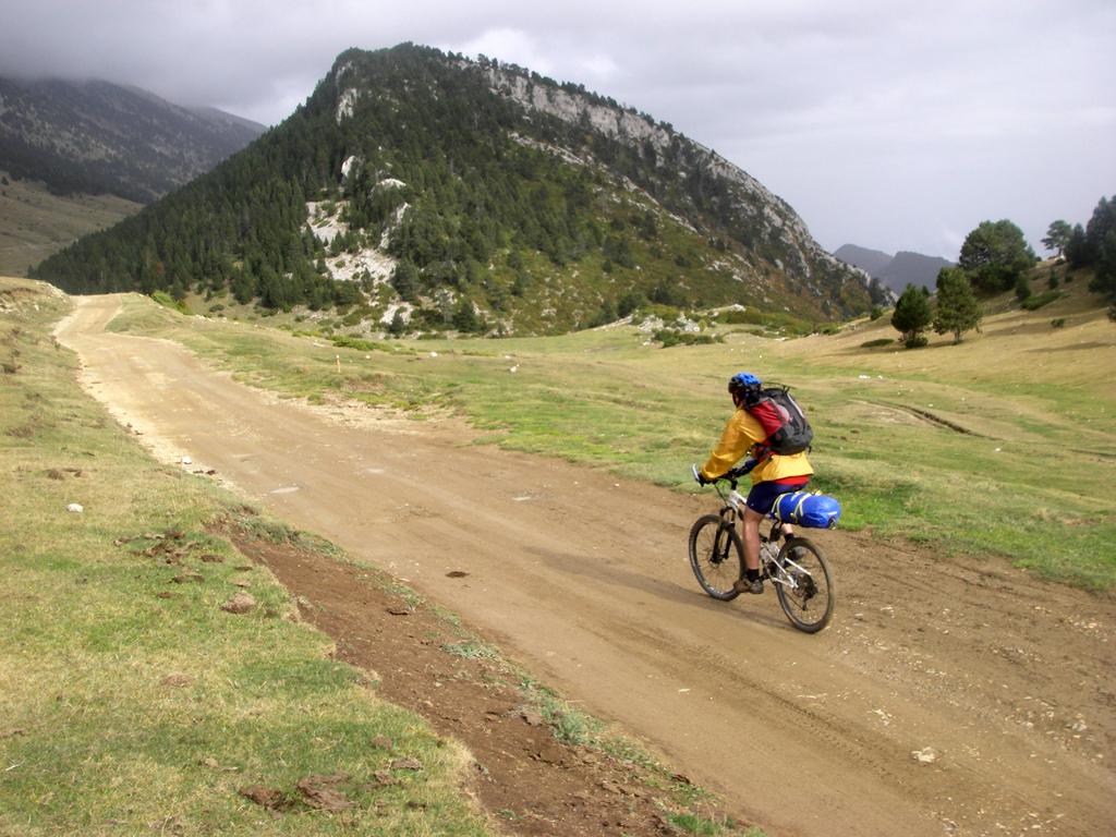 La traversée des Pyrénées en VTT - Etape 12: En Sierra de Cadi