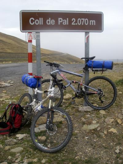 La traversée des Pyrénées en VTT - Etape 13 : Le col de Pal