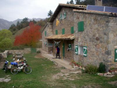 La traversée des Pyrénées en VTT - Etape 13 : Le refuge de Rebost