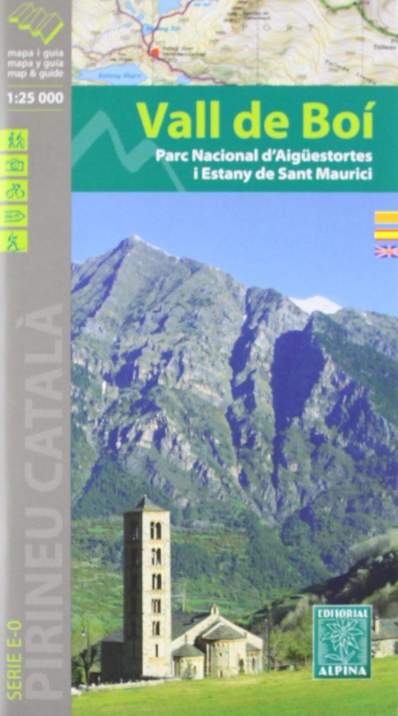 Carte Alpina E-25 Vall de Boí - Parc Nacional d'Aigüestortes I Estany de Sant Maurici