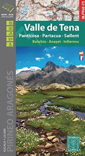 Carte Alpina E-25 Valle de Tena – Panticosa – Partacua – Sallent